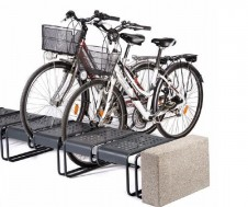 Basic 196L cycle stand