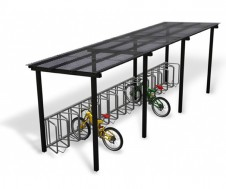 Light cycle shelter