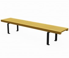 Metal panca light bench