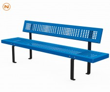 Metal Seduta light bench