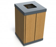 guyon EKO timber bin urban furniture