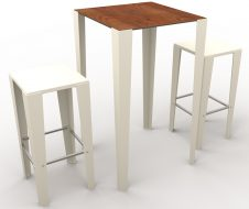 guyon urban furniture High bar table 4 legs BRUNCH