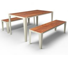 guyon mobilier urbain table pique nique stratifie compact BRUNCH